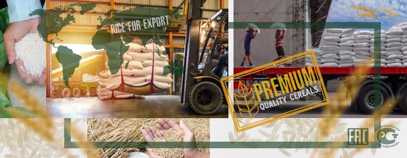 Экспорт рисовой крупы