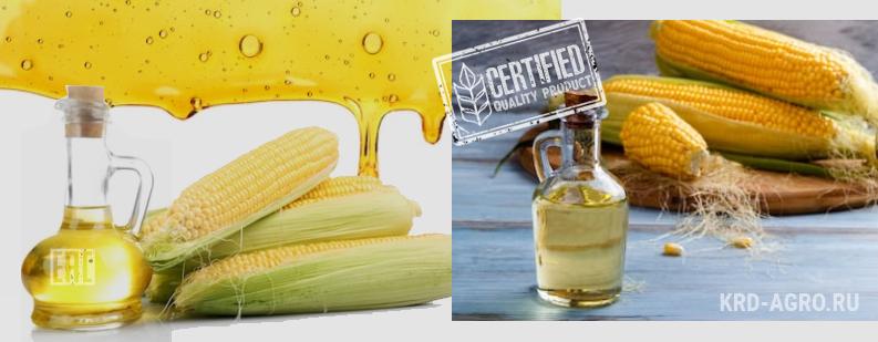 Масло кукурузное высший сорт оптом